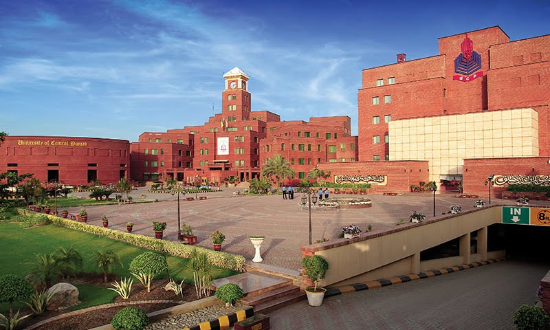 The University of Central Punjab or UCP